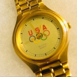 RARE USA OLYMPICS BULOVA WATCH